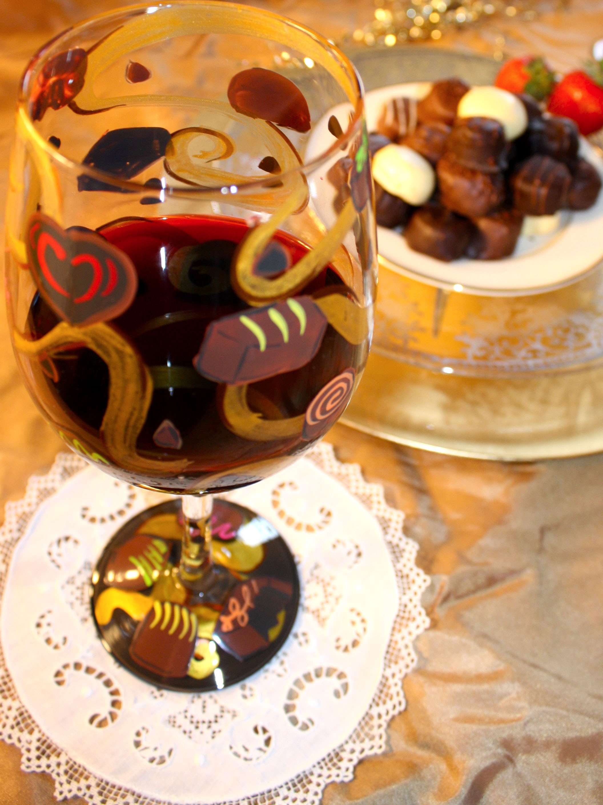 Magic Wine Glass Magical Holiday Soiree Wine