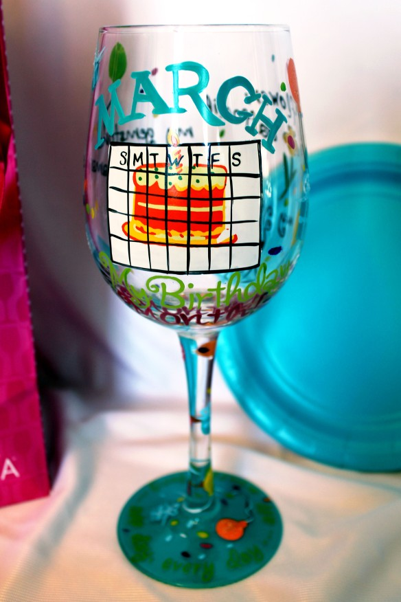 March Wine Glass